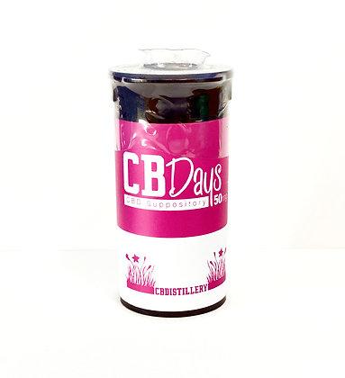 CBDistillery 50mg/3pk CBDays Suppository