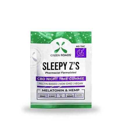 Green Road Sleepy Z's- 50mg CBD