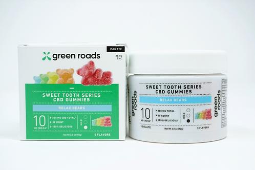 Green Roads 300mg/30ct Relax Bears