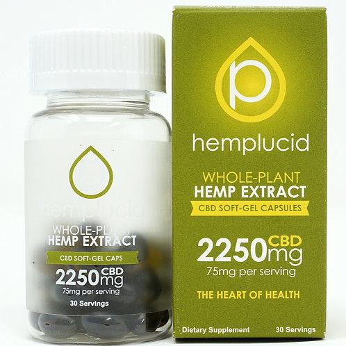 Hemplucid 2250mg/30ct Full Spectrum Capsules