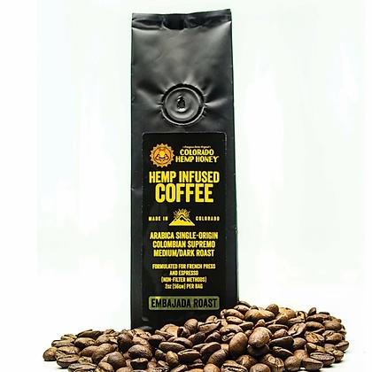 Colorado Hemp Honey Infused Coffee- 2oz - 43mg CBD