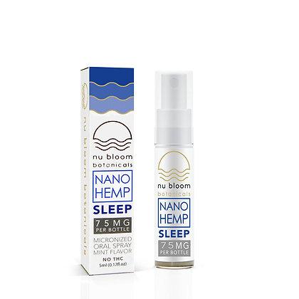 Nu Bloom Sleep Oral Spray-75mg CBD