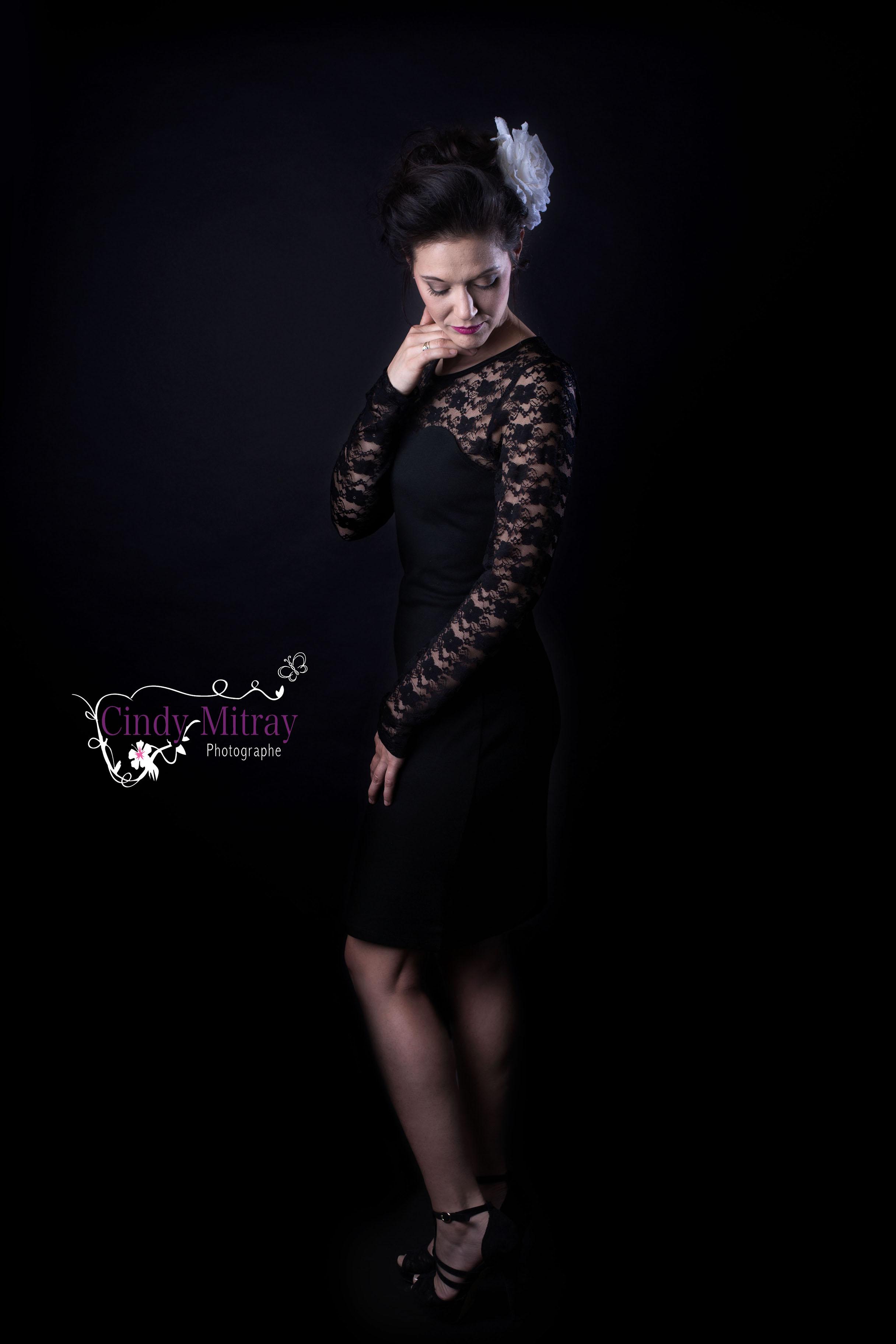 Portrait de femme photographe thonon