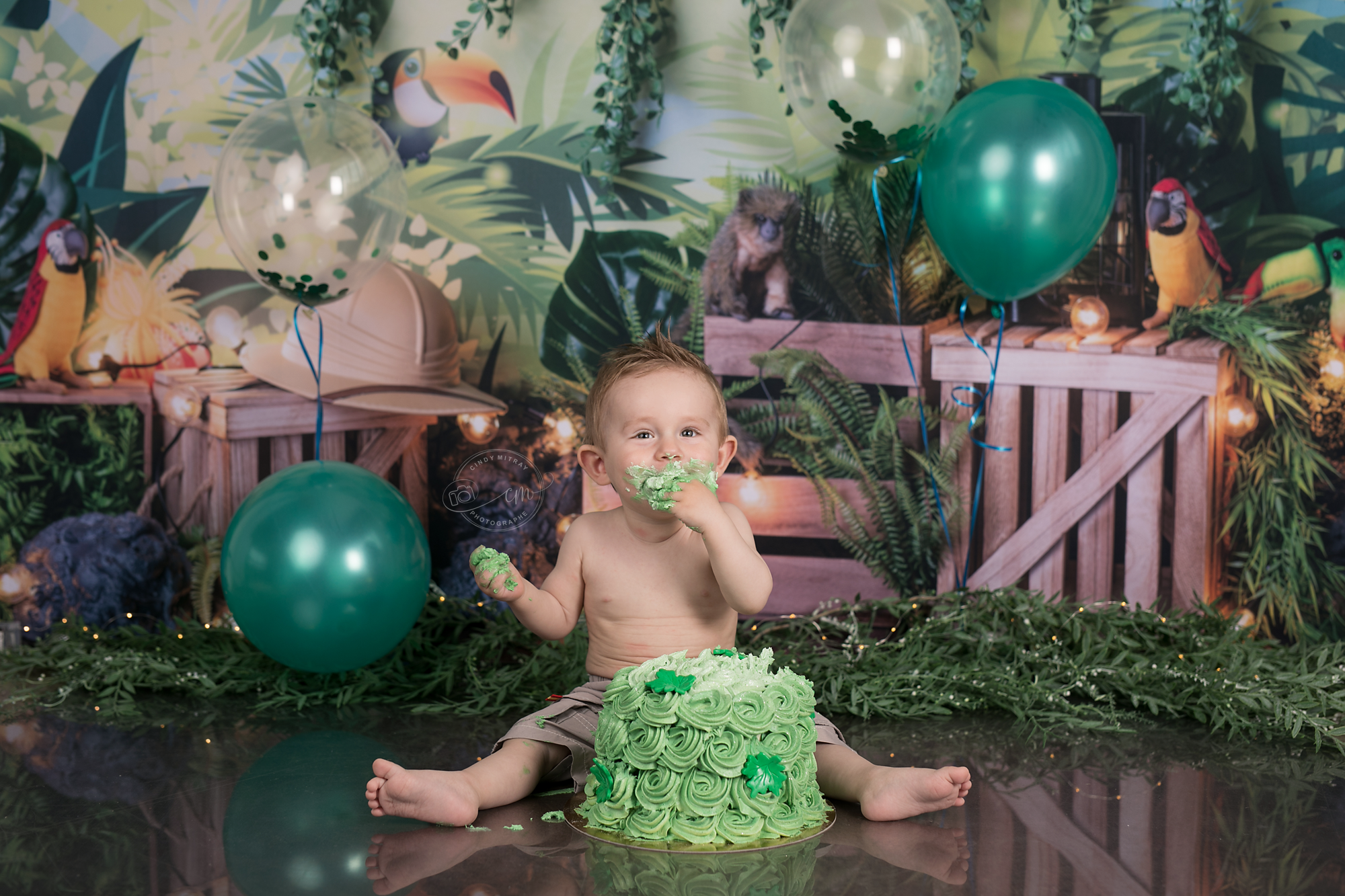 photographe smash the cake