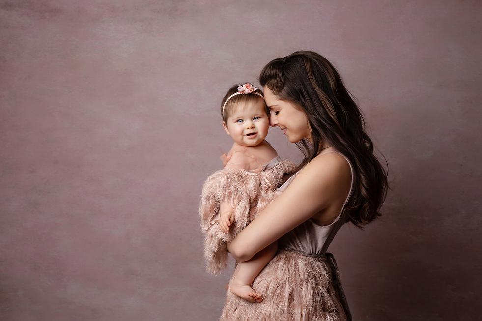 photo maman et bébé annecy