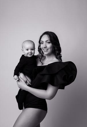 portrait maman et moi