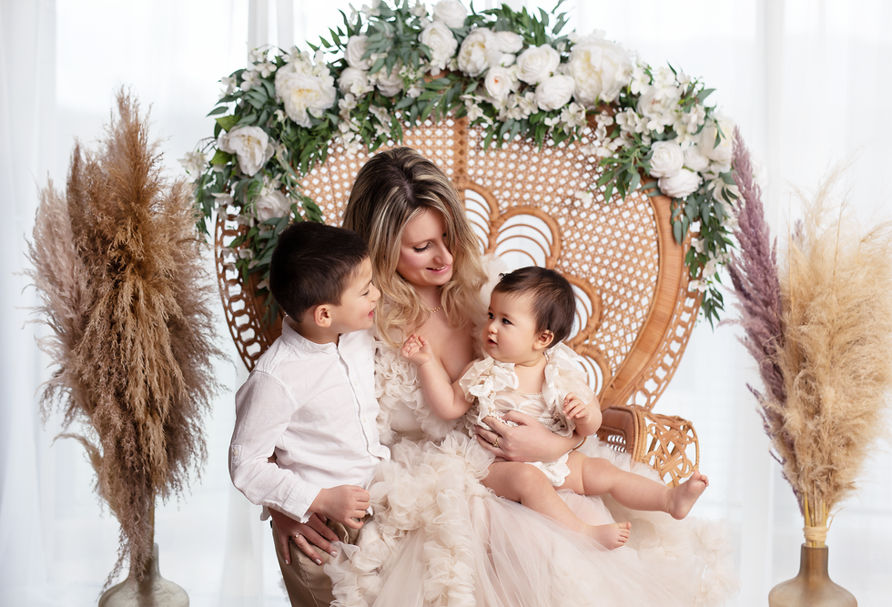 photographie maman et enfant