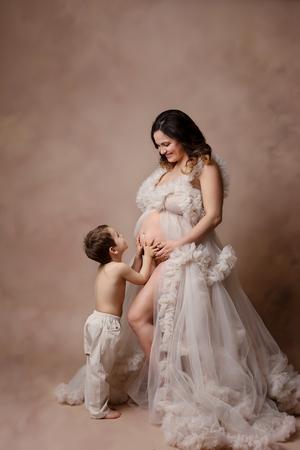 photo grossesse avec ainé