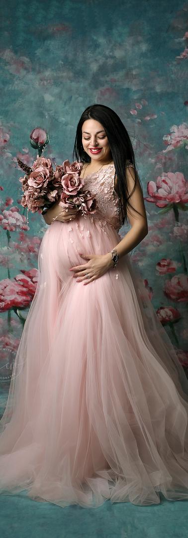 Robe rose clair T36/40