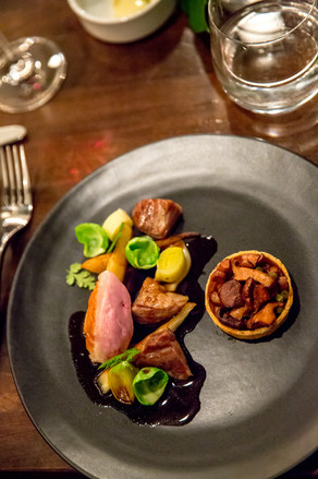 Main Course - Yarrow Valley Duck with North Arm Parsnip