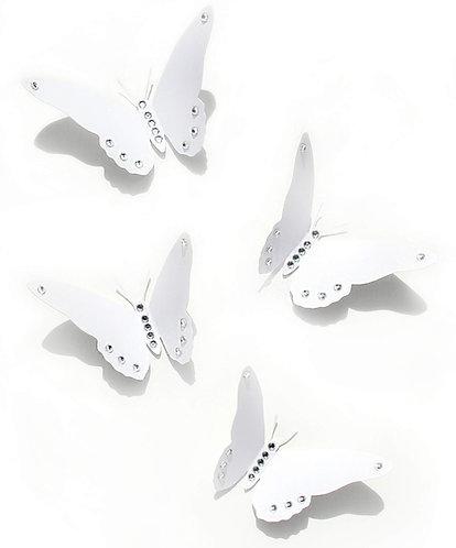 Farfalle 3D bianche