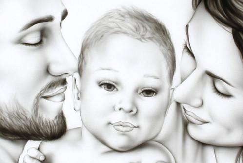 Sacra Famiglia Capezzale Quadri Moderni Sacri Quadri