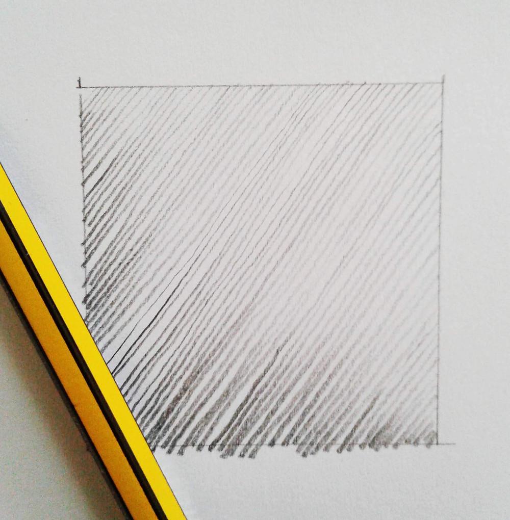 esercitazione di disegno linee modulate