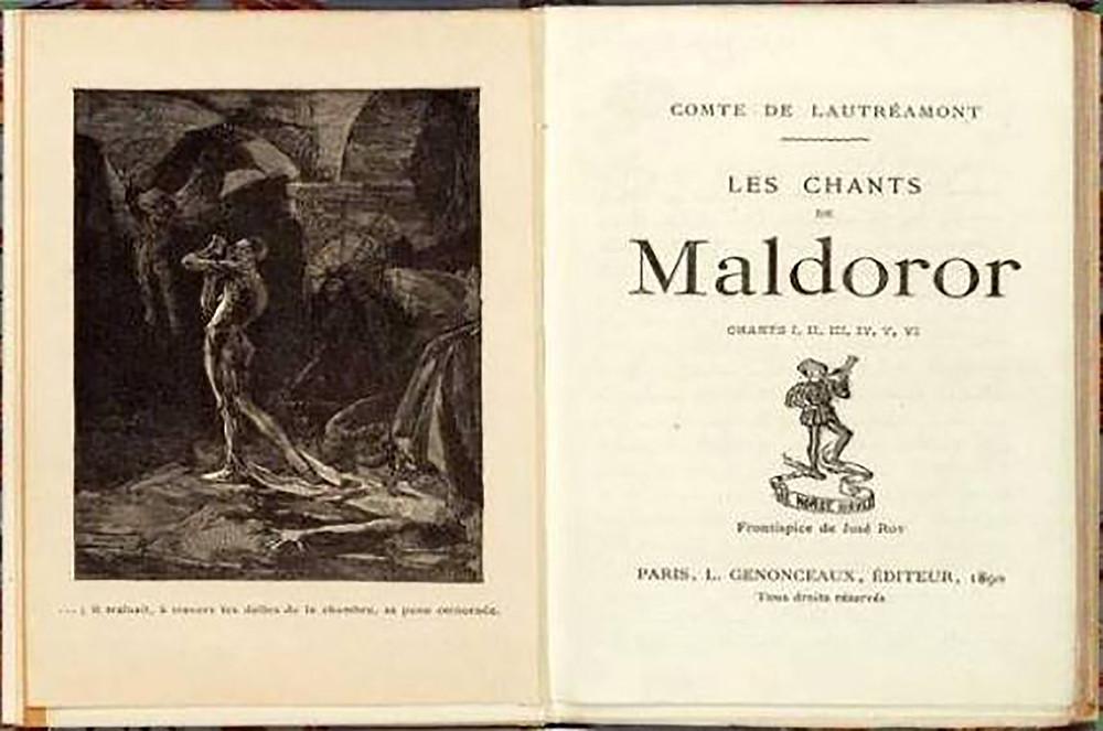 I canti di Maldoror di Lautréamont