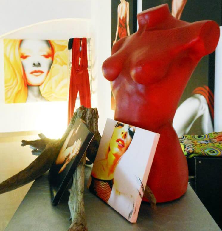 sculture per arredamento moderno
