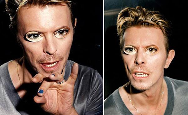 David Bowie  eyes  mask