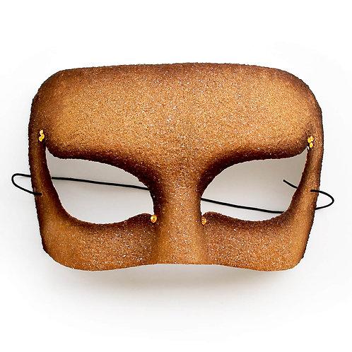 Maschera elegante sabbia
