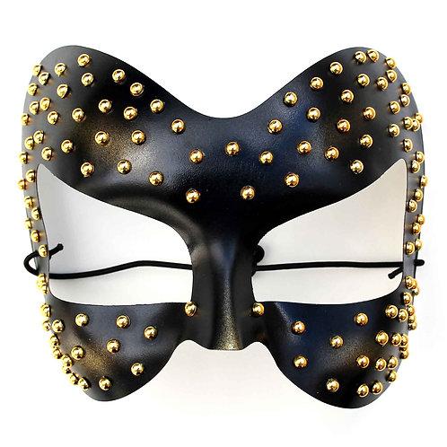 Maschera gioiello domino nera