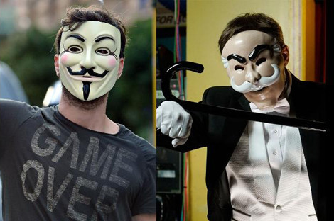 Anonymous Mask - Mr. Robot Mask
