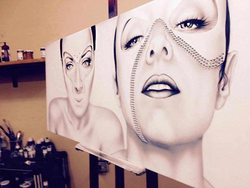 Quadri Moderni - Work in Progress - ArtAndFashion by Antonella Sportelli