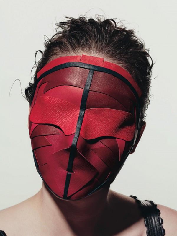 Maschera in Pelle Peter Philip