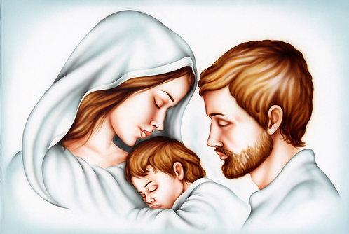 Sacra Famiglia Pastello