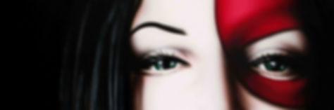 Quadro moderno dettaglio volto donna ArtAndFashion by Sportelli