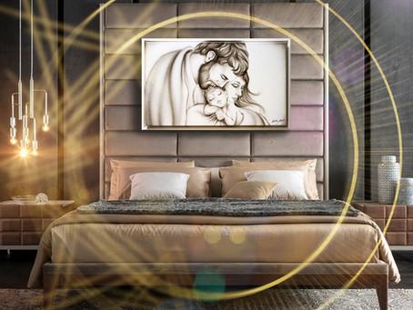 Che quadro metto in camera da letto? Esempi di arredamento con capezzali moderni