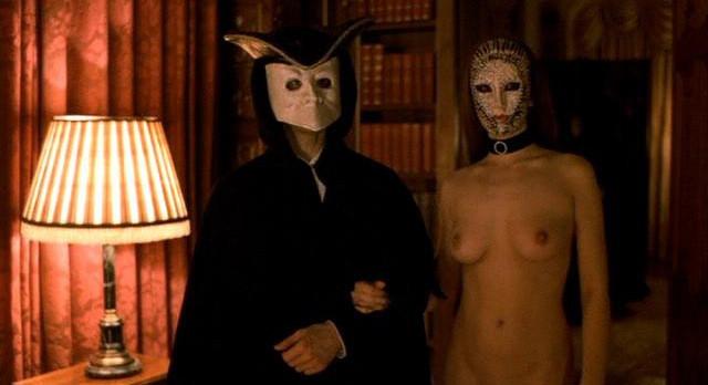 maschere Stanley Kubrick, scene dal film, maschere veneziane
