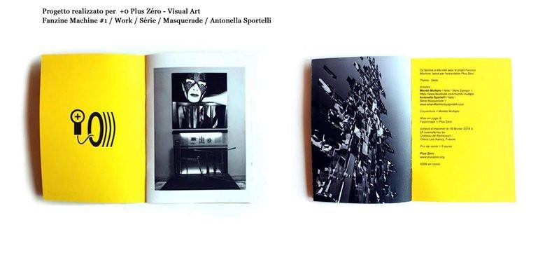 fanzine Plus Zéro Antonella Sportelli e Mondo Multiplo