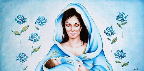 Madonna delle Rose Celeste