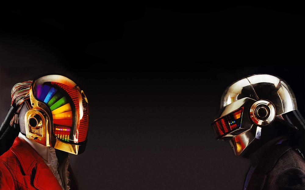 Daft Punk Masks - Riflessi