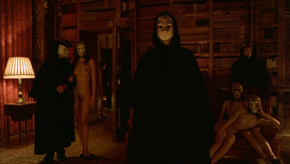 maschere Kubrick, scene erotiche film Eyes Wide Shut