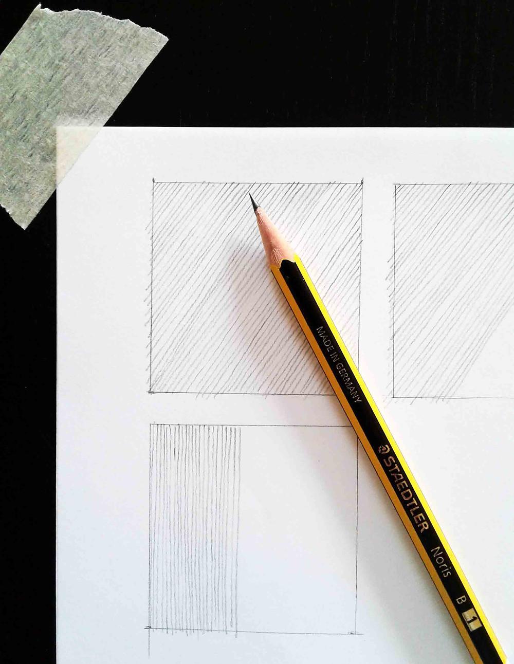 lezione di disegno come tracciare linee dritte