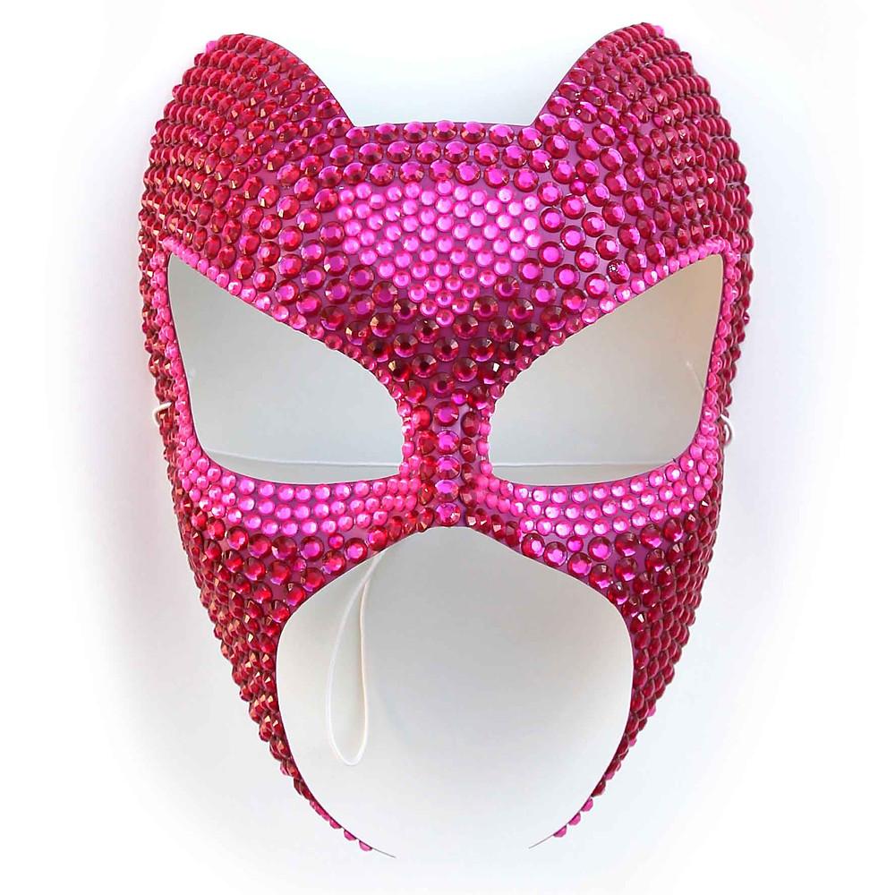 maschera sexy rosa fucsia