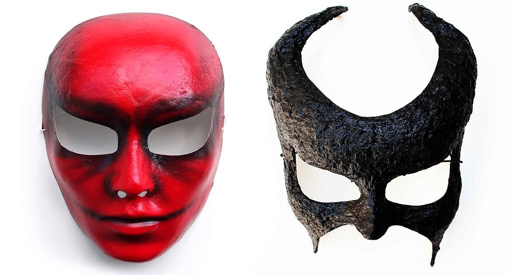 maschere halloween artandfashionbysportelli