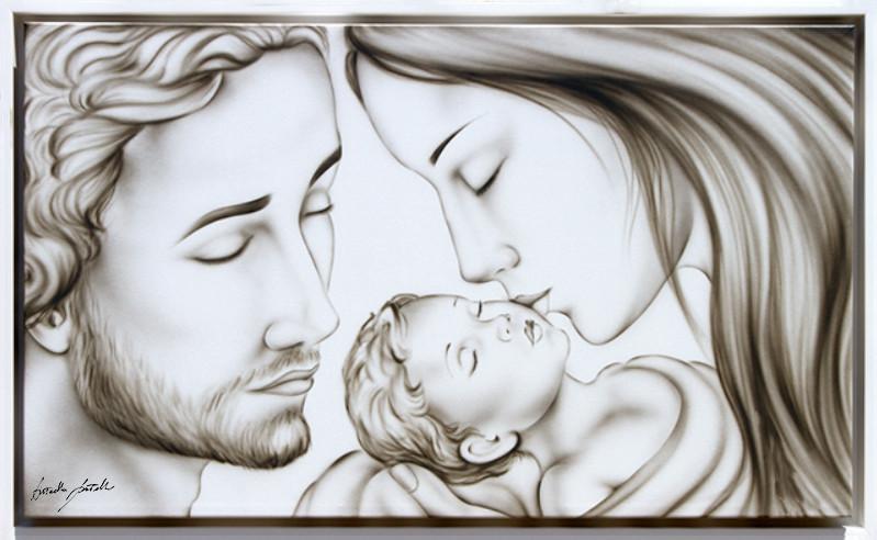 Capezzale Sacra Famiglia classico ArtAndFashion by Sportelli