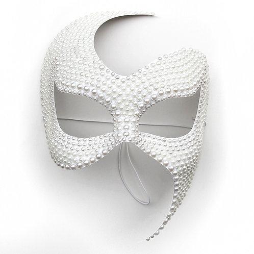 Maschera elegante di perle