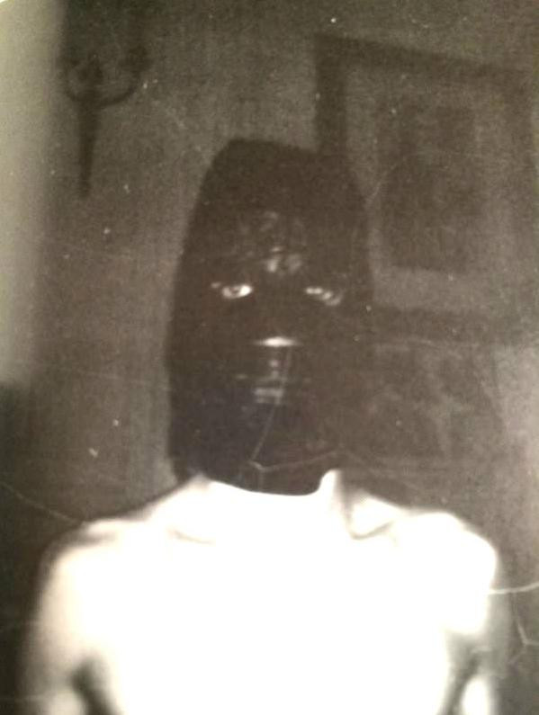 David Bowie sexy mask BDSM bondage
