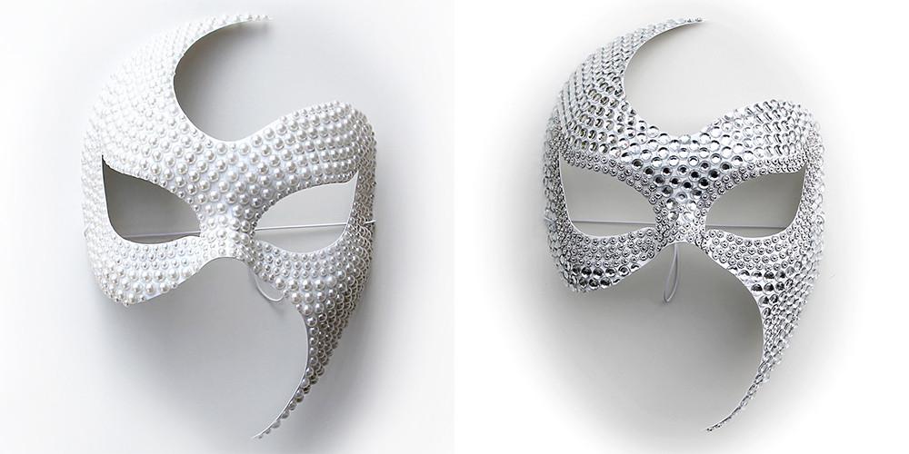 maschere eleganti, maschere moda