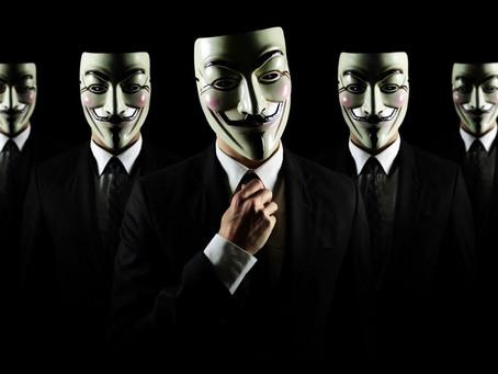 V per Vendetta - La maschera di Guy Fawkes - Anonymous