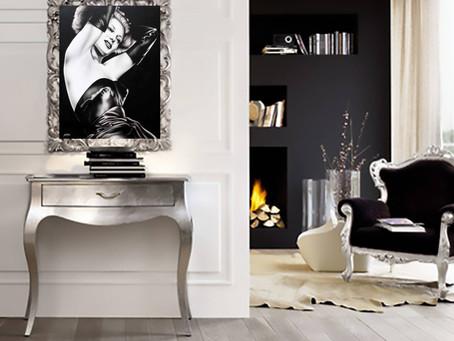 Quadri Moderni in Bianco e Nero