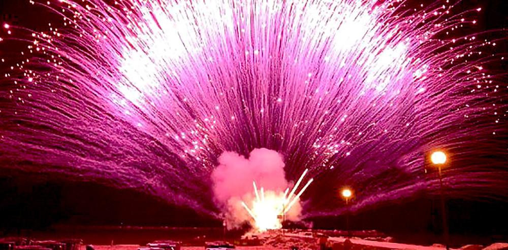 fuochi artificio notte rosa