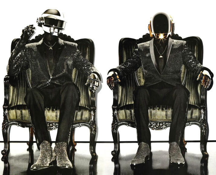 Daft Punk - Couture Mask - ArtAndFashion by Sportelli