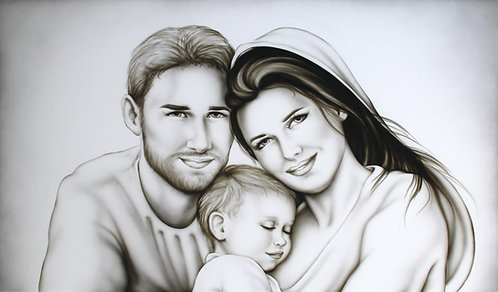 Sacra Famiglia Contemporanea
