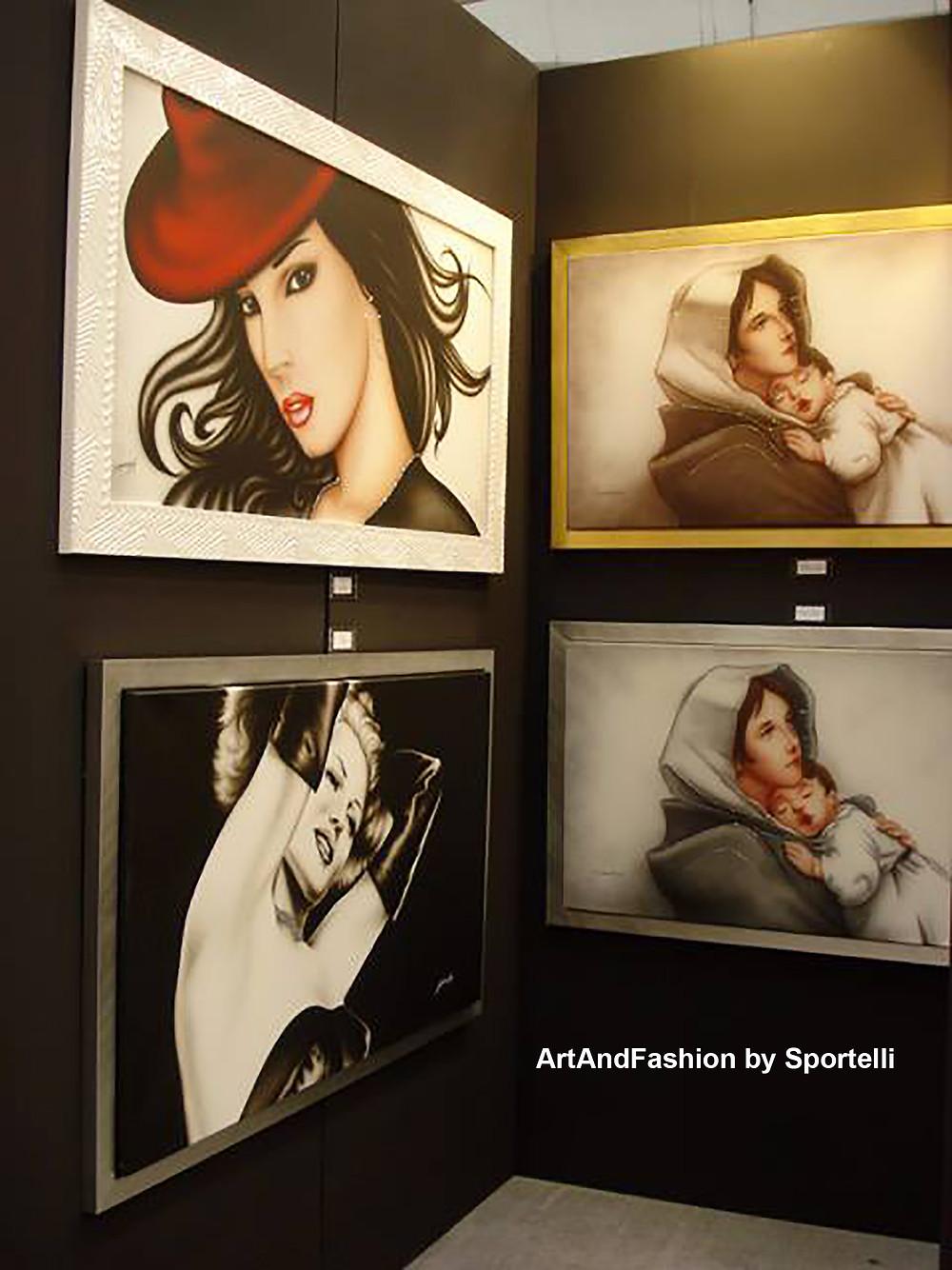 Quadri moderni e cornici varie ArtAndFashion by Sportelli