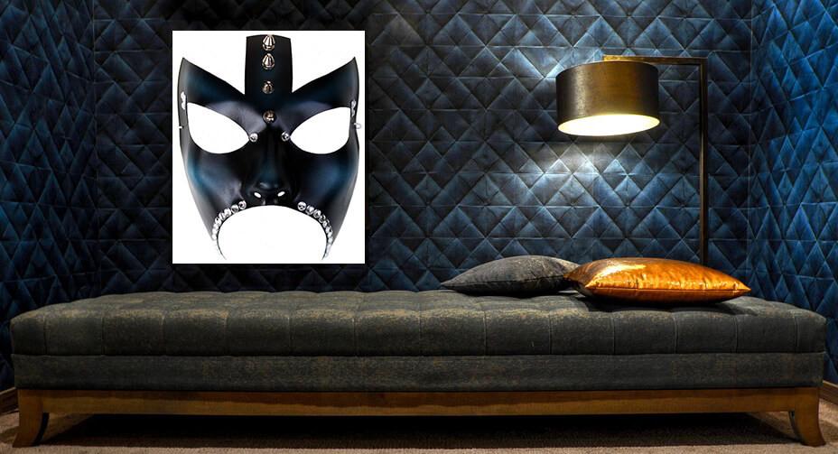 quadri moderni artandfashion, stampe su tela, quadro maschera
