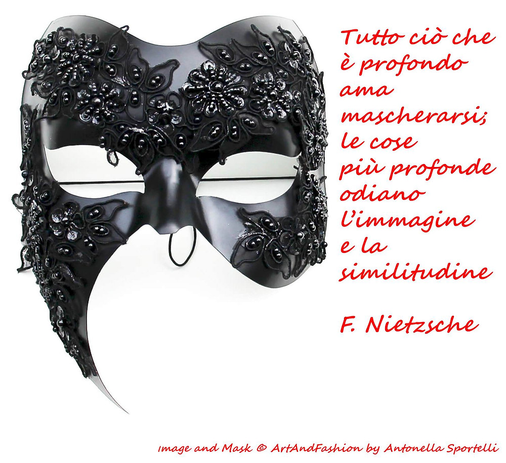 aforisma maschere, aforisma sull'essere profondo