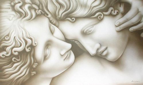 quadro classico Canova primo-piano tre Grazie