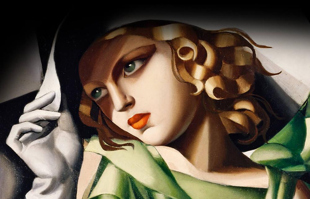 quadri moderni e arredamento moderno e copie d'autore Lempicka